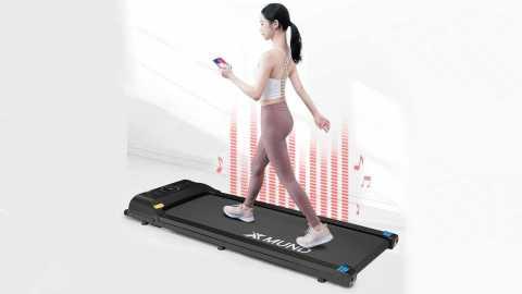 XMUND XD T1 - XMUND XD-T1 Treadmill Folding Walking Pad Banggood Coupon Code [Czech Warehouse]