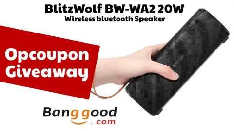 blitzwolf bw wa2 giveaway - Opcoupon Weekly Giveaway