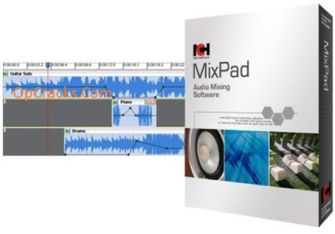 MixPad Crack 7.77 With Registration Code Full New Version Download 2022
