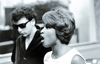 Darlene Love and Phil Spector
