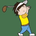 北海道ゴルフ第一ラウンド