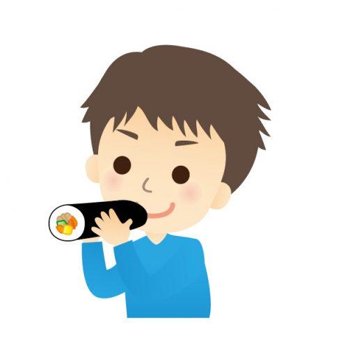 恵方巻きの方角の決め方と食べ方のお作法