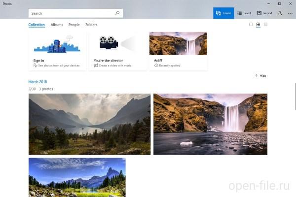 Фотографии (Windows 8/10) – описание, скриншот, ссылка для ...