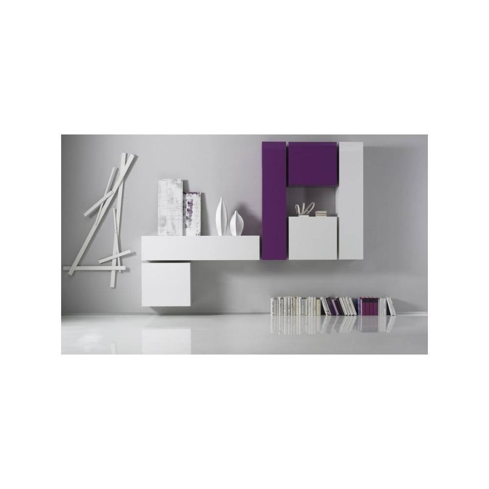 Meuble De Salon Design 8 Couleurs Au Choix