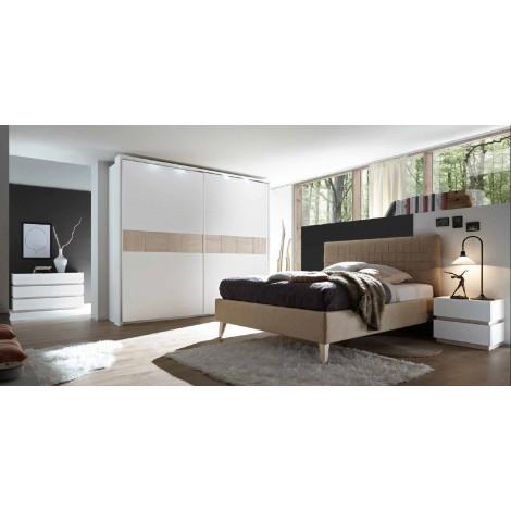 chambre moderne xar 2 blanc et beige