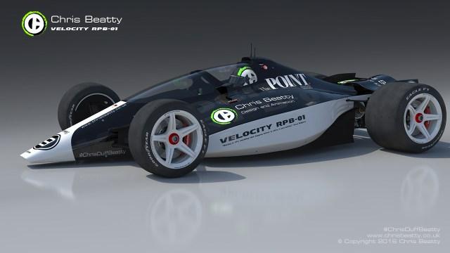 Chris Beatty's Velocity RPB open-wheel concept