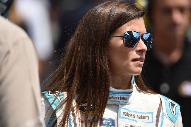 Danica Patrick at the 2017 Brickyard 400
