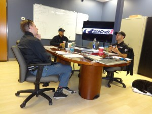 Discussion at RaceCraft1