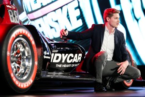 Josef Newgarden and the 2018 IndyCar aero kit