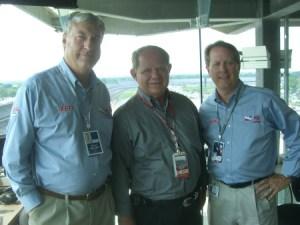 Bob Jenkins, Paul Page and Mike King