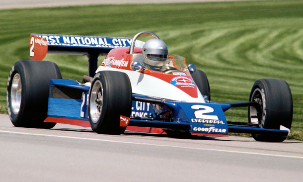Al Unser's 1978 Triple Crown-winning car.