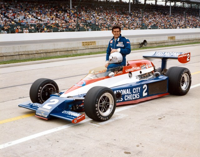 Al Unser at the 1978 Indianapolis 500