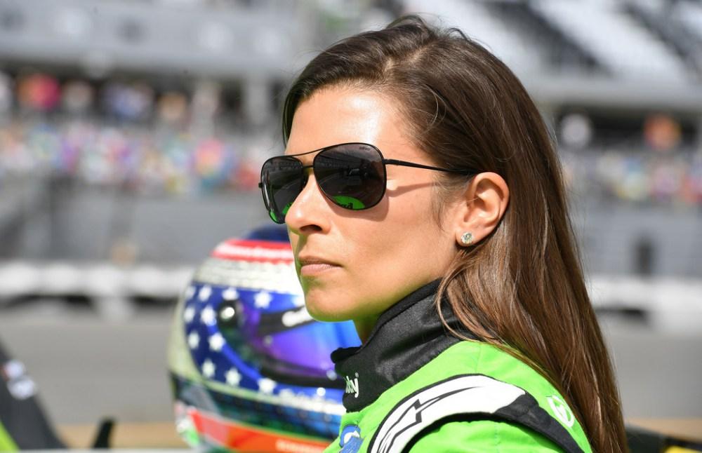 Danica Patrick at the 2018 Daytona 500