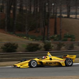 Helio's Return, Penske's Dominance Highlight Barber Open Test
