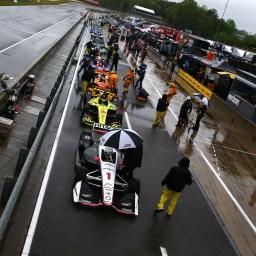 IndyCar at Barber postponed until Monday, April 23; Newgarden leads