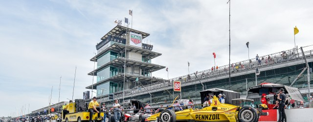 Practice for the Indianapolis 500