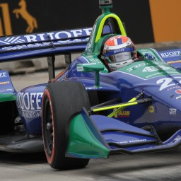 Andretti Autosport flexes muscle in Saturday Detroit GP race