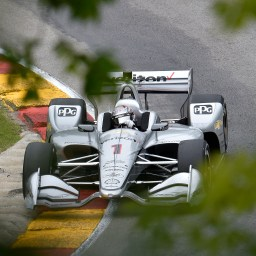Newgarden leads first Friday Road America practice