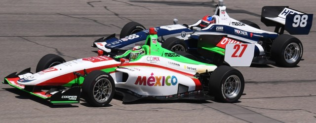 Colton Herta and Pato O'Ward