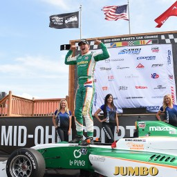 Rinus VeeKay snatches Pro Mazda points lead after Mid-Ohio
