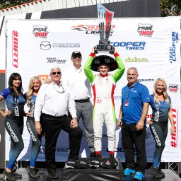 Pato O'Ward clinches Indy Lights championship with win at Portland