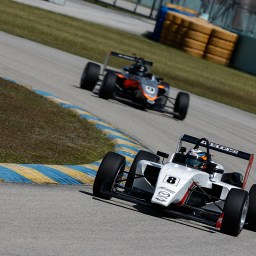 Stacked field prepares for USF2000 spring testing at Homestead-Miami