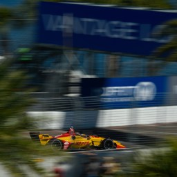 Hunter-Reay tops second Grand Prix of St. Petersburg practice session