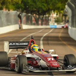 Rinus VeeKay wins Indy Lights round two on streets of St. Petersburg