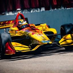 Ryan Hunter-Reay paces disjointed third practice in St. Petersburg