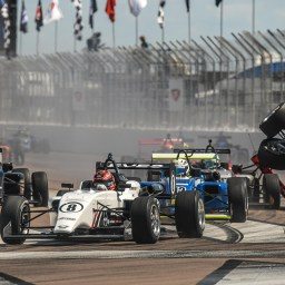 Road to Indy: Braden Eves wins opening USF2000 race on St. Petersburg streets