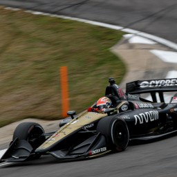 Hinchcliffe tops slick second INDYCAR practice at Barber