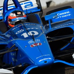 Rosenqvist leads stunted first INDYCAR practice from Barber Motorsports Park