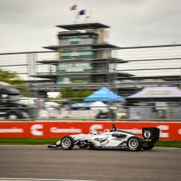 Braden Eves remains perfect in USF2000 by winning at Indianapolis