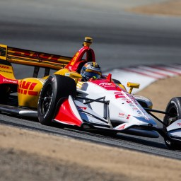 Ryan Hunter-Reay tops second Laguna Seca practice