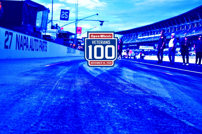 Veterans 100 entry list boasts 56 entries for Open-Wheels 500 support race