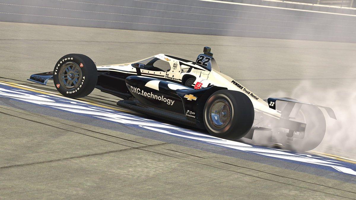 Simon Pagenaud nabs INDYCAR iRacing win at Michigan