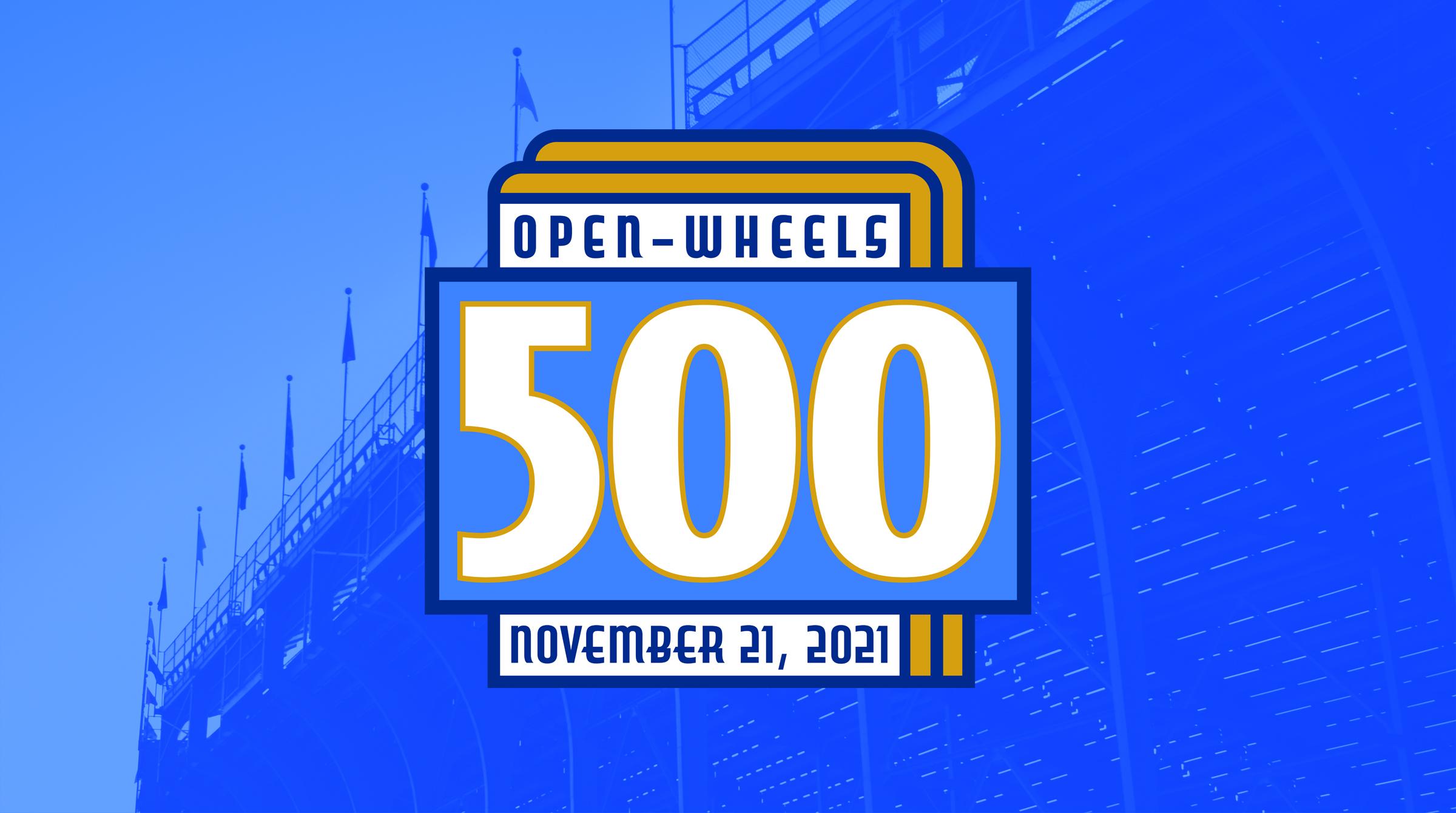 2021 Open-Wheels 500 Announced for Sunday, November 21