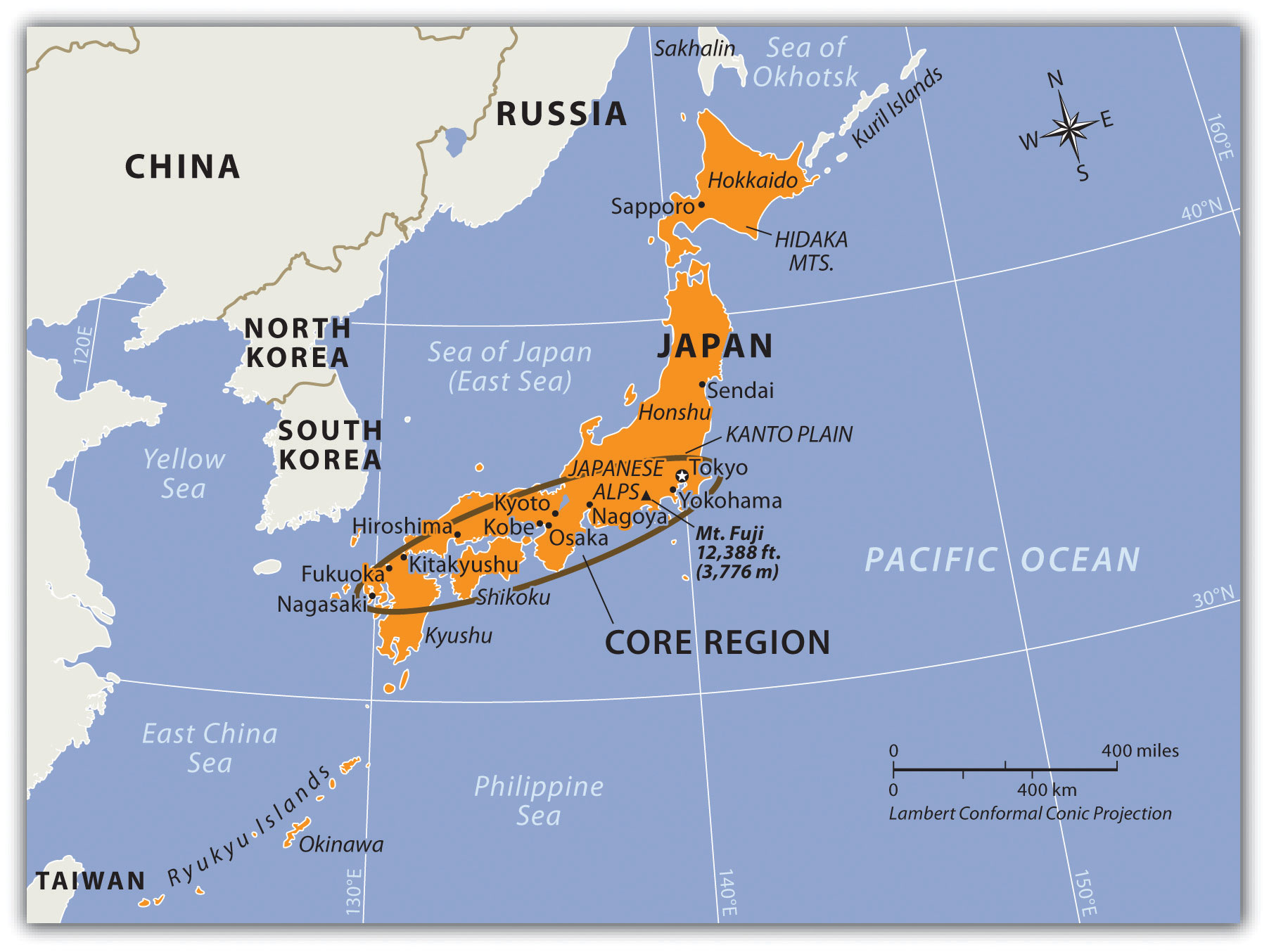 10 4 Japan And Korea North And South World Regional