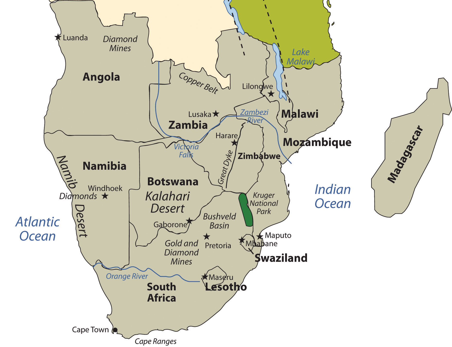 7 6 Southern Africa World Regional Geography People