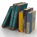 Books Set 3D Model