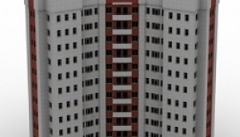 Building Hearst Foster Tower 3D Model Free Download ID6236