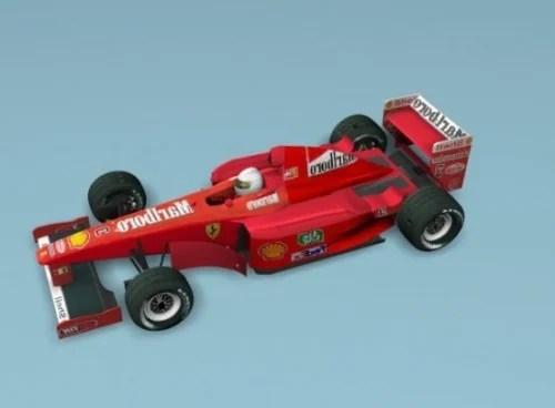 Formula F1 Ferrari Car