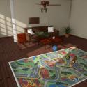 Kid Room Interior Scene
