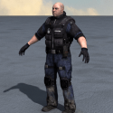 Security Police Man