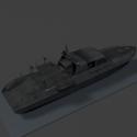 Military Attack Boat