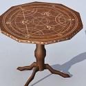 Horoscop Wood Table