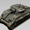 M4 Sherman Free 3d Model