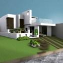 House Villa Residence Building Scene