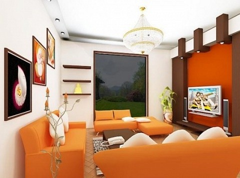 Décoration de salon intérieur modèle 3D - .Max - Open3dModel ...