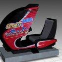 Turbo Outrun Sitdown Arcade Machine Free 3d Model